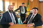 Danny Healy-Rae elected to Kerry County Council 16-9-03<br />Jackie Healy-Rae gave up his Kerry County Council seat on Monday in favour of his son Danny, left,  who will now sit beside his brother Michael in the chamber. Danny will represent Killarney while Michael represents Killorglin. The Healy-Rae political dynasty from Kilgarvan now has two sitting county councillors and a TD.<br />Picture by Don MacMonagle