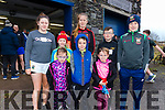 Taking part it the annual Cahersiveen Rowing Club 5K Walk/Run in aid the Alzheimer Society of Ireland on St Stephens Day were front l-r; Zara, Eoin & Abbie Fitzgerald, back l-r; Hannah Sugrue, Aisling O'Sullivan, Emma Quigley, Jack O'Shea & Donagh Sugrue.