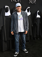 "LOS ANGELES, CA. September 04, 2018: Randy Couture at the world premiere of ""The Nun"" at the TCL Chinese Theatre, Hollywood."