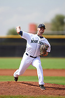 Seattle Mariners pitcher Darin Gillies (96) during an instructional league intrasquad game on October 6, 2015 at the Peoria Sports Complex in Peoria, Arizona.  (Mike Janes/Four Seam Images)