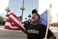 Protest against U.S. Supreme Court's ruling on Arizona SB 1070 law