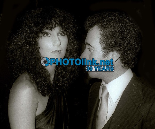 Cher David Geffen at Studio 54 1978<br /> Photo By Adam Scull/PHOTOlink.net