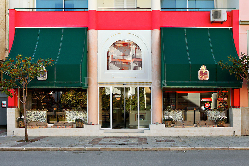 facade of the bakery