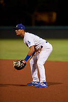 AZL Dodgers Mota first baseman Imanol Vargas (30) during an Arizona League game against the AZL Rangers at Camelback Ranch on June 18, 2019 in Glendale, Arizona. AZL Dodgers Mota defeated AZL Rangers 13-4. (Zachary Lucy/Four Seam Images)