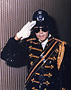 """MICHAEL JACKSON.Died today at UCLA Hospital Los Angles (25/06/2009) after suffering a heart attack and slipping into a coma at the age of 50...Michael Jackson visits a police station and checks out a holding cell, London 1985.Mandatory Photo Credit: ©Newspix International..**ALL FEES PAYABLE TO: """"NEWSPIX INTERNATIONAL""""**..PHOTO CREDIT MANDATORY!!: NEWSPIX INTERNATIONAL(Failure to credit will incur a surcharge of 100% of reproduction fees)..IMMEDIATE CONFIRMATION OF USAGE REQUIRED:.Newspix International, 31 Chinnery Hill, Bishop's Stortford, ENGLAND CM23 3PS.Tel:+441279 324672  ; Fax: +441279656877.Mobile:  0777568 1153.e-mail: info@newspixinternational.co.uk"""