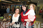 MARKET: Landy Brown, Peggy Delaney and Eirin Higgins, at the Christmas market in Kenmare on Friday.