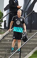 Torwarttrainer Andreas Koepke (Deutschland Germany) kommt zum Training - 03.06.2019: Trainingslager der Deutschen Nationalmannschaft zur EM-Qualifikation in Venlo/NL
