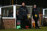 Romford manager Paul Martin during Romford vs Haringey Borough, Bostik League Division 1 North Football at Ship Lane on 8th November 2017