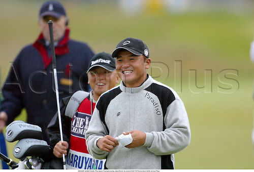 SHIGEKI MARUYAMA, The Open Championship, Muirfield, Scotland 020720 Photo:Glyn Kirk/Action Plus...Golf.2002