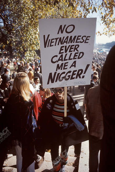 Anti-Vietnam War protest, Washington D.C., USA, October 1967