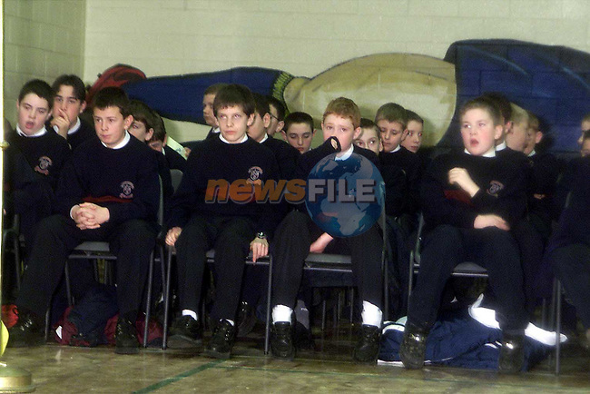 Students at the official opening of St. Mary's Boys School..Picture: Paul Mohan/Newsfile
