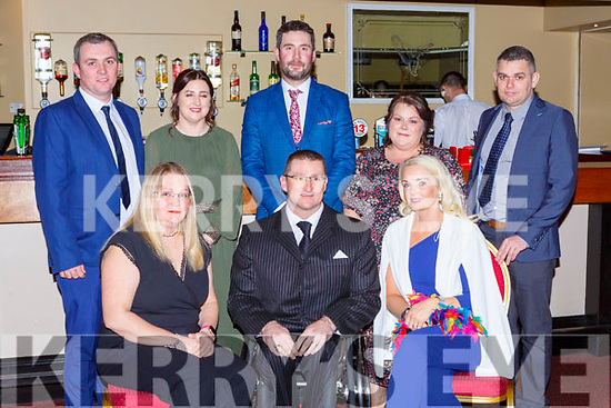 Roy Guerin Ffrom the Kingdom Wheel Blaster club which was honoured at the Kerry Sports awards show in the Gleneagle Hotel on Friday night r-l: Terje and Roy Guerin, Liz McMahon. Back row: Shane McMahon, Deirdre Branbury, Tadhg Buckley, Aileen Buckley and Kieran McCArthy