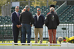 Stamford, Lincolnshire, United Kingdom, 4th September 2019, Captiam Mark Phillips discusses the event  during the 1st Horse Inspection of the 2019 Land Rover Burghley Horse Trials, Credit: Jonathan Clarke/JPC Images
