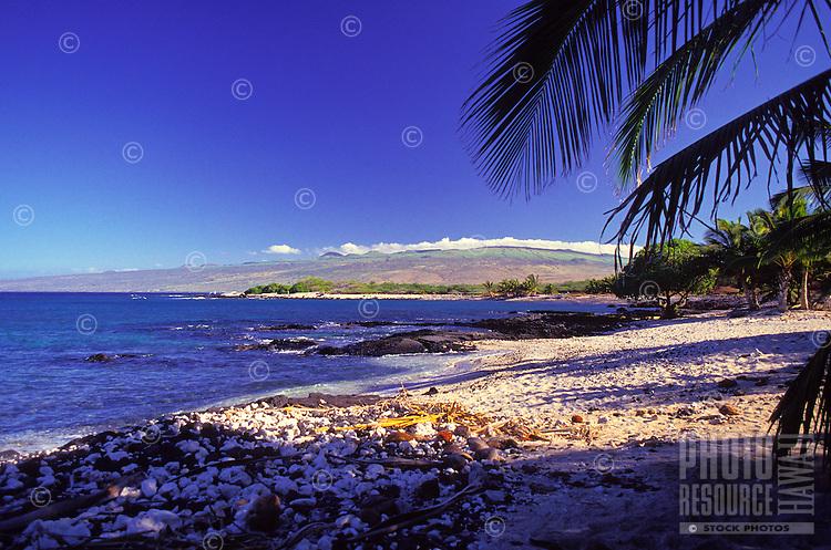 Beach at Mauna Lani Bay on the Kohala Coast of the Big Island