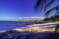 Beach at Mauna Lani Bay on the Kohala Coast of the Big Island