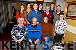 Jim Litchfield from Leith Tralee celebrating his birthday in the Brogue Inn on Friday night.<br /> Seated l to r: Noreen, Jim and Janna Litchfield.<br /> Back l to r: Eimear, Brenda, Jimmy and Cilian Litchfield, Bobby Sullivan, Eoghan Carroll, Pat Nolan and Ben Litchfield.