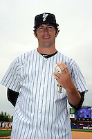 Staten Island Yankees pitcher Fred Lewis (26) during first team workout at Richmond County Bank Ballpark at St. George in Staten Island, NY June 15, 2010.  Photo By Tomasso DeRosa/ Four Seam Images