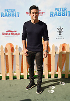 LOS ANGELES, CA - FEBRUARY 03: TV personality Mario Lopez arrives at the Premiere Of Columbia Pictures' 'Peter Rabbit' at The Grove on February 3, 2018 in Los Angeles, California.<br /> CAP/ROT/TM<br /> &copy;TM/ROT/Capital Pictures
