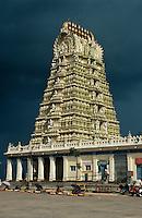 Indien, Mysore (Karnataka)   Chamundi Hill, Sri Chamundeswari Tempel