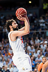 Real Madrid's player Sergio Llull during Liga Endesa 2015/2016 Finals 4th leg match at Barclaycard Center in Madrid. June 20, 2016. (ALTERPHOTOS/BorjaB.Hojas)