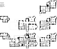 BNPS.co.uk (01202 558833)<br /> Pic: BellIngram/BNPS<br /> <br /> Floorplans for the 5 story residence.<br /> <br /> A magnificient Scottish castle which comes with its own two islands is on the market for £3.75million.<br /> <br /> Glenborrodale Castle is situated on the southern shore of the picturesque Ardnamurchan Peninsula in the remote Highlands. <br /> <br /> The baronial mansion dates from 1902 and is built from distinctive red Dumfriesshire sandstone.<br /> <br /> It boasts 133 acres of land taking in the idyllic uninhabited isles of Risga and Eileam an Feidh.<br /> <br /> The larger of the two, Risga, spans 30 acres and is in the centre of Loch Sunart, 800 yards from the north shore