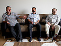 Iraq 2011 In Koysanjak, meeting in the house of Botan, former military chief of PKK
