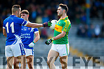Bryan Sheehan South Kerry in action against Con Barrett Kerins O'Rahillys in the Kerry Senior Football Championship Semi Final at Fitzgerald Stadium on Saturday.