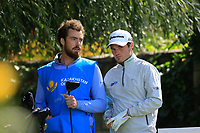 Cormac Sharvin (NIR) during the first round of the Kazakhstan Open presented by ERG played at Zhailjau Golf Resort, Almaty, Kazakhstan. 13/09/2018<br /> Picture: Golffile | Phil Inglis<br /> <br /> All photo usage must carry mandatory copyright credit (&copy; Golffile | Phil Inglis)