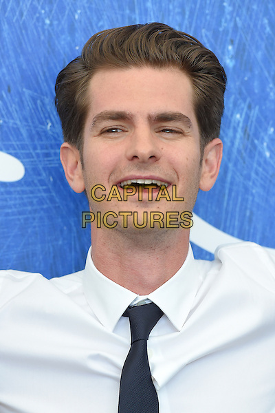 VENICE, ITALY - SEPTEMBER 4: Andrew Garfield attends a photo call for Hacksaw Ridge during the 73rd Venice Film Festival on September 4, 2016 in Venice, Italy.<br /> CAP/BEL<br /> &copy;BEL/Capital Pictures