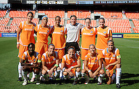 Sky Blue FC starting XI.  Washington Freedom defeated Skyblue FC 2-1 at RFK Stadium, Saturday May 23, 2009.