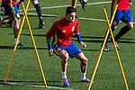 Spainsh Marc Bartra during the training of the spanish national football team in the city of football of Las Rozas in Madrid, Spain. November 09, 2016. (ALTERPHOTOS/Rodrigo Jimenez)