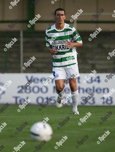 2007-07-26 / Voetbal / Racing Mechelen / Joao Olivio Calicchio