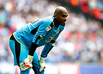 Ali Al Habsi of Reading during the SkyBet Championship Play Off Final match at the Wembley Stadium, England. Picture date: May 29th, 2017.Picture credit should read: Matt McNulty/Sportimage