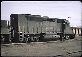 3/4 rear view of SP GP40 #7602.<br /> Southern Pacific    Taken by Berkstresser, George - 3/1994