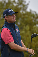 Trey Mullinax (USA) watches his tee shot on 10 during day 3 of the Valero Texas Open, at the TPC San Antonio Oaks Course, San Antonio, Texas, USA. 4/6/2019.<br /> Picture: Golffile | Ken Murray<br /> <br /> <br /> All photo usage must carry mandatory copyright credit (&copy; Golffile | Ken Murray)