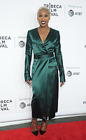 NEW YORK, NY - APRIL 19: Cynthia Erivo attends the 'Clive Davis: The Soundtrack of Our Lives' 2017 Opening Gala of the Tribeca Film Festival at Radio City Music Hall on April 19, 2017 in New York City. <br /> CAP/MPI/JP<br /> &copy;JP/MPI/Capital Pictures