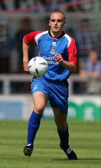 Grant Munro, Inverness Caley Thistle.stock season 2004-2005.pic willie vass