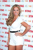 Aisleyne Hogan Wallace arriving for The Stag Premiere at Vue Leicester Square, London. 13/003/2014 Picture by: Dave Norton / Featureflash