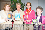 CHRISTMAS CARDS: Launching the 2008 Kerry Hospice Foundation Christmas Cards collection and sponsored by the Kerry Group the artists who designs will appear on this year's collection at the Palliative Care Centre at KGH on Monday l-r: Jane Hillard, Camp, Marie'Claire Stacey, Dooks, Nina Finn-Kelcey, Caragh Lake and Mary Pat O'Sullivan, Dooks.   Copyright Kerry's Eye 2008