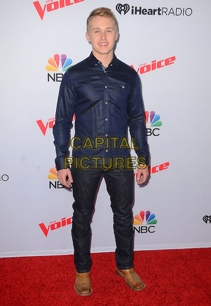 23 April 2015 - West Hollywood, California - Corey Kent White. Arrivals for The Voice Spring Break Concert held at The Pacific Design Center.  <br /> CAP/ADM/BT<br /> &copy;BT/AdMedia/Capital Pictures