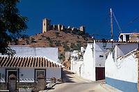 Spanien, Andalusien, Burg von Almodovar