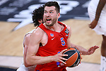 Turkish Airlines Euroleague.<br /> Final Four - Vitoria-Gasteiz 2019.<br /> Semifinals.<br /> CSKA Moscow vs Real Madrid: 95-90.<br /> Sergio Llull vs Alec Peters.