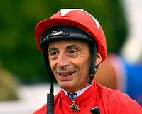 Jockey Gerald Mosse during Evening Racing at Salisbury Racecourse on 11th June 2019