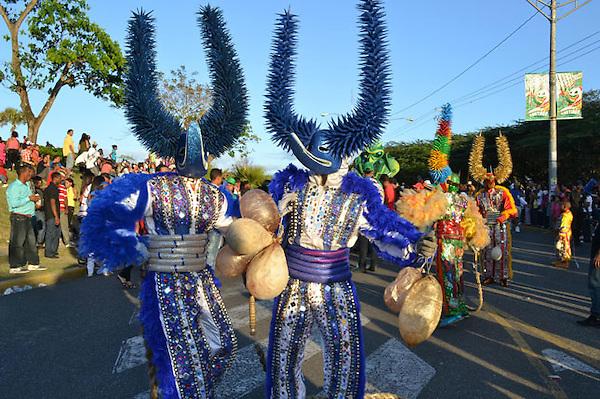 SANTIAGO DE LOS CABALLEROS, Cierre del carnaval en la ciudad de Santiago..Lugar:Santiago de los Caballeros.Foto:Maximo Laureano.Fecha:28/2/2011.