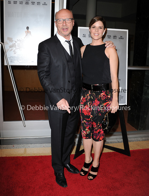 """Paul Haggis and Neve Campbell attends The Sony Picture Classics LA Premiere of """"THIRD PERSON"""" held at The Pickford Center for Motion Picture Studio / Linwood Dunn Theatrein Hollywood, California on June 09,2014                                                                               © 2014 Hollywood Press Agency"""