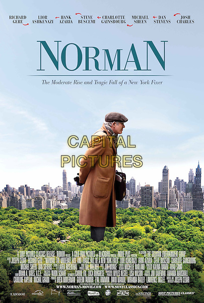 Norman (2016)<br /> (Norman: The Moderate Rise and Tragic Fall of a New York Fixer)<br /> POSTER ART<br /> *Filmstill - Editorial Use Only*<br /> CAP/FB<br /> Image supplied by Capital Pictures