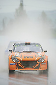 14th April 2018, Circuit de Barcelona-Catalunya, Barcelona, Spain; FIA World Rallycross Championship; Rodolphe Audran of the Rodolphe Audran Team in action during the very wet Q2