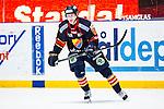 Stockholm 2014-03-27 Ishockey Kvalserien Djurg&aring;rdens IF - R&ouml;gle BK :  <br /> Djurg&aring;rdens Marcus S&ouml;rensen <br /> (Foto: Kenta J&ouml;nsson) Nyckelord:  DIF Djurg&aring;rden R&ouml;gle RBK Hovet portr&auml;tt portrait