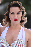 """Candice Brown<br /> at the """"Dancing on Ice"""" launch photocall, natural History Museum, London<br /> <br /> <br /> ©Ash Knotek  D3365  19/12/2017"""