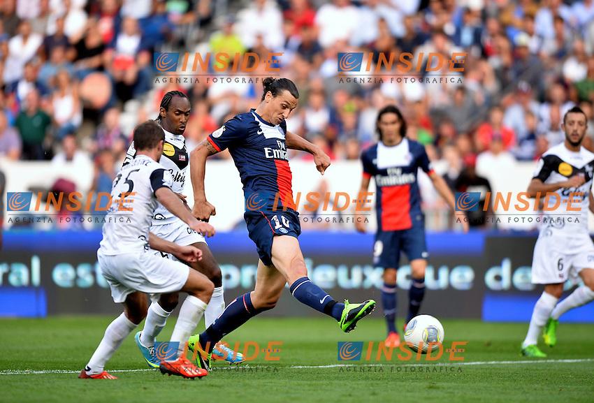 Zlatan Ibrahimovic (psg) <br /> Football Calcio 2013/2014<br /> Ligue 1 Francia<br /> Foto Panoramic / Insidefoto <br /> ITALY ONLY